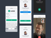 Video Call App room consultancy mockup video call video call app