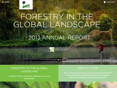 CIFOR Annual Report