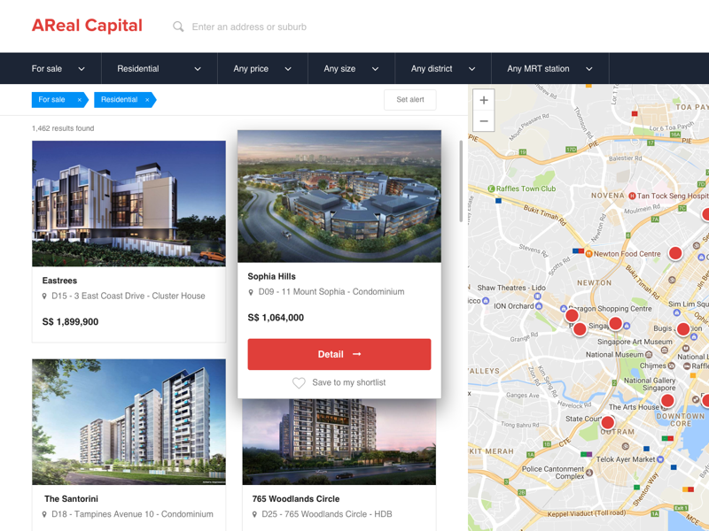 Browse property map view real estate browse property