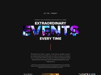 Extraordinary events