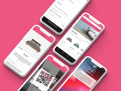 eCommerce App shop online ecommerce shop ecommerce mobile user interface mockup
