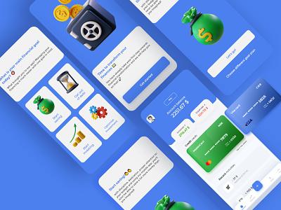 Financial app concept xd mobile application user experience design mobile financial finance uxui ux user interface design user interface userinterface user experience uiux ui design app