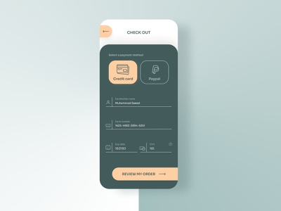 Credit card checkout dailyui checkout mobile logo illustration branding ux user interface userinterface ui user experience uiux design