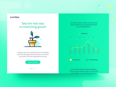 WorldPay Infographic Website - Growth