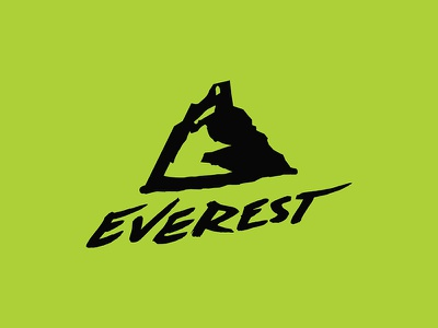 Everest Logo illustration design mark branding logo