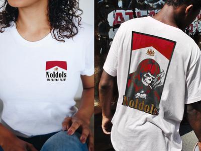 NO IDOLS : Death Smokes apparel parody vintage 90s tobacco reaper death
