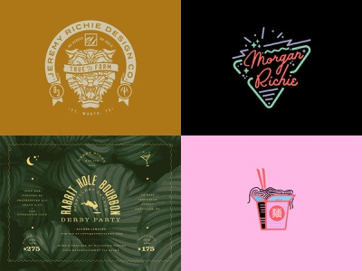 2018 illustration identity type vector brand logo