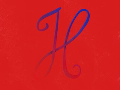 H by Hafsah Mijinyawa via dribbble