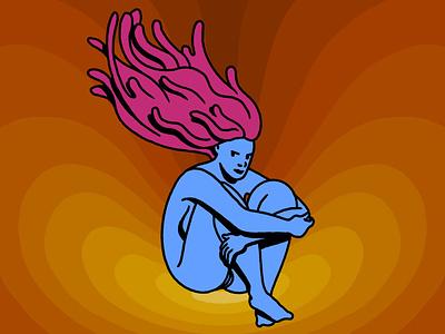 Woman woman procreate ipad illustrator illustration freelance design