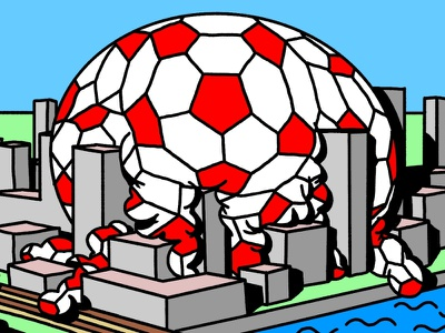 Feyenoord City procreate ipad illustrator illustration freelance design