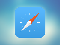 iOS7 // Redesign Safari icon