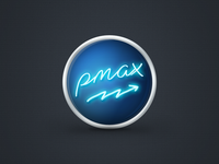 Logo for p-max