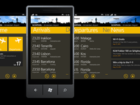 Schiphol WP7 Interface proposal