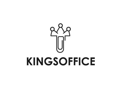Kings Office - Logo Design - Aichkov brand design idea graphic design dribbble adobe behance branding logo aichkov design