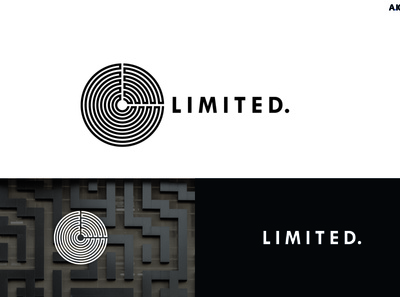 Limited - Logo Design - Aichkov brand design idea dribbble adobe behance graphic design branding logo aichkov design
