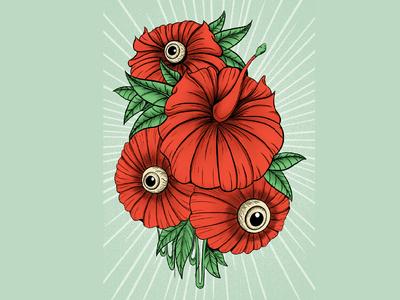 Th eyes of flowers