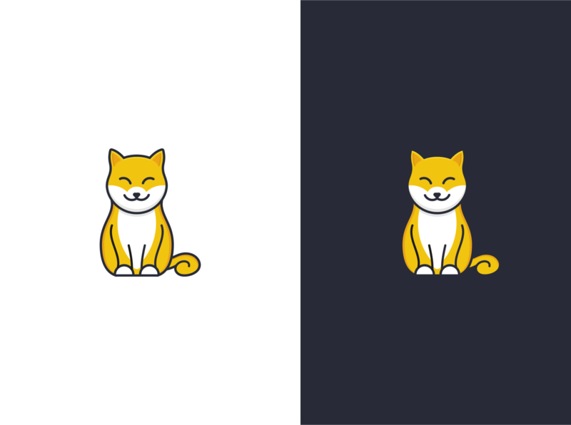 Smile cat logo