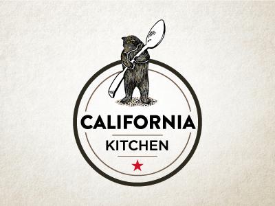 California Kitchen california food kitchen design logo