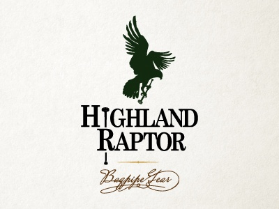 Highland Raptor logo option