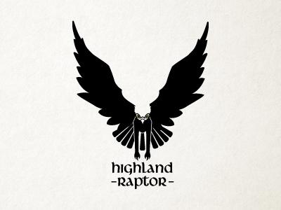 Highland Raptor logo option 2