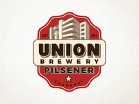 Union Brewery Logo in Red