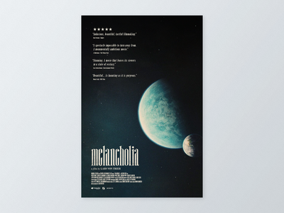 Melancholia (2011) Alternative Movie Poster
