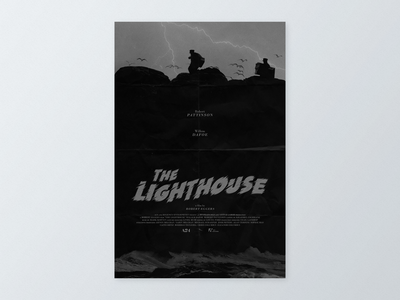 The Lighthouse (2019) Alternative Movie Poster