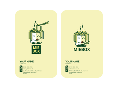NAME CARD by MIEBOX