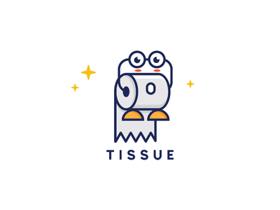Tissue Icon Design logo icon illustration design