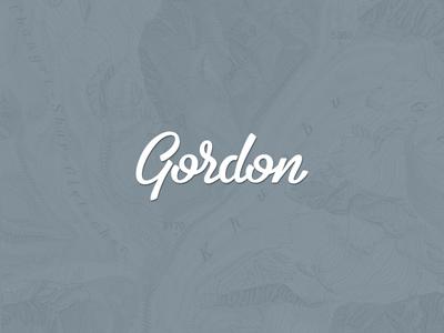Gordon, personal branding.