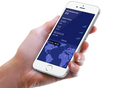 Live view data charts dataviz dashboard real-time live