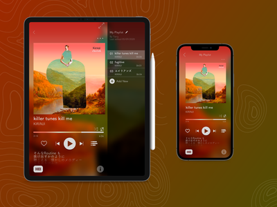 Daily UI 9: Music Player music player app music player sketch music app ui ux design dailyuichallenge dailyui