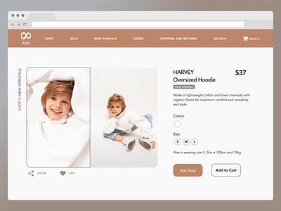 Daily UI 12: E-Commerce Shop (Single Item) buy ecommerce shopping dailyui 0012 dailyui