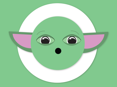 Baby Yoda Emoji baby yoda yoda emoji illustrator illustration design