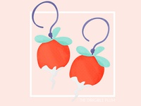 15. Luna's Dirigible Plum Earrings