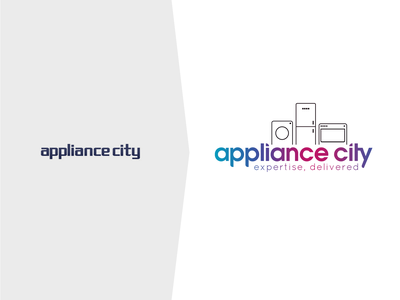 Appliance City Branding & Website website design woocommerce gutenberg wordpress php html css ux ui design branding