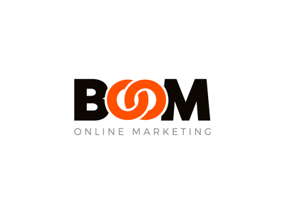 Boom Online Marketing Rebrand vector logo branding brand