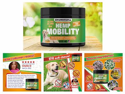 Дизайн этикетки и листинга лакомств для собак