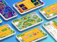 PBS KidVision UI augmented reality game product design ux ui design app