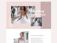 Wedding salon website