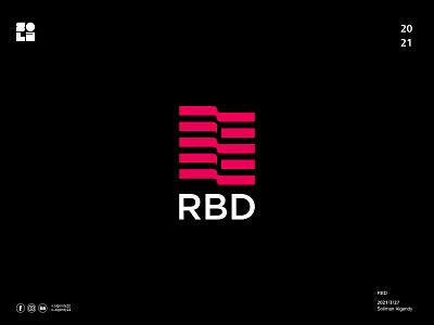 RBD adobe illustrator لوجو minimal logo mark symbol logodesign شعار design branding logo