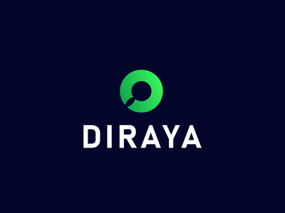 Dirayah Food Consulting Co graphic design nature illustration design لوقو logodesign logo mark symbol لوجو شعار branding leaf magnifier consulting logo food