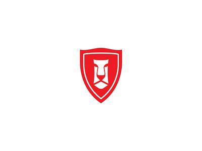 LION LOGO illustration vector لوجو design symbol mark logodesign logo branding شعار wild business lion animal red strong company simple poster