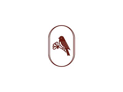 Bird logo brunch sun symbol mark logodesign ui لوجو vector design شعار rose flower emblem bird branding logo