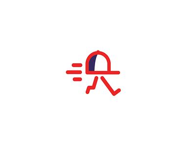 Arbawy | Delivery logo vector illustration symbol mark saudi red running design speed hat graphic design شعار ui لوجو logodesign branding logo delivery