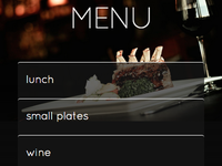 2Chez Restaurant Website