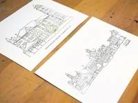 ScrantonMade building illustrations