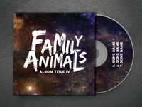 Family Animals Band Logo