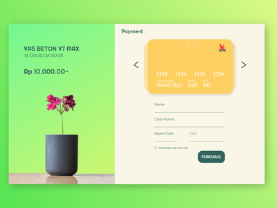 credit card checkout ui daily ui