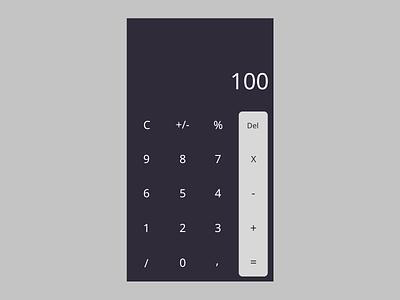 daily ui 004 calculator daily ui